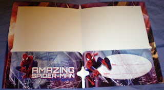 Centerfold of Amazing Spider-Man portfolios 2014 edition #1