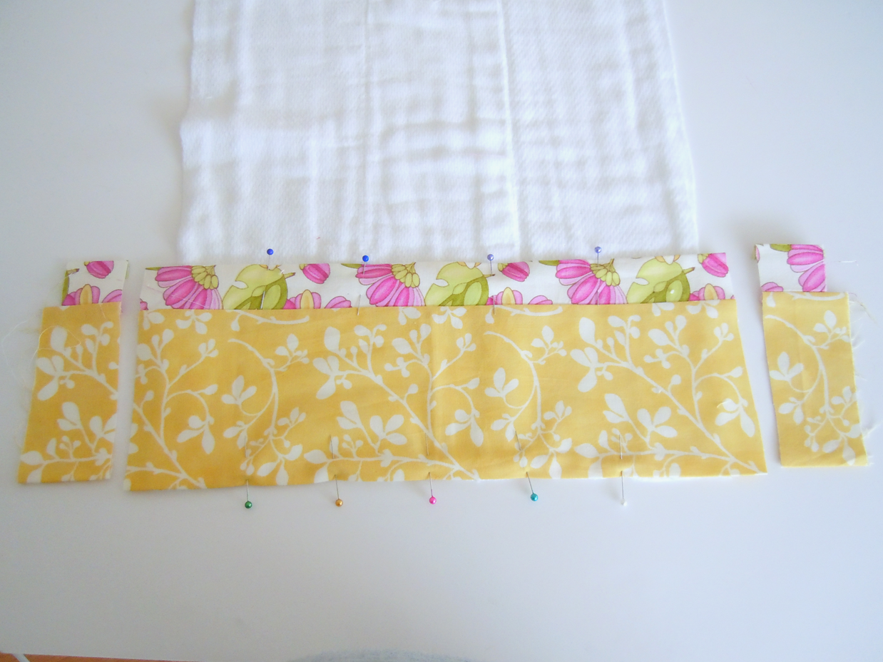 how to make burp cloths out of cloth diapers