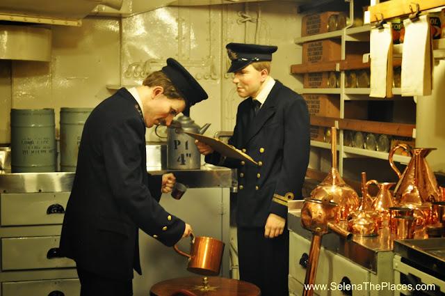 Rum rationing aboard HMS Belfast