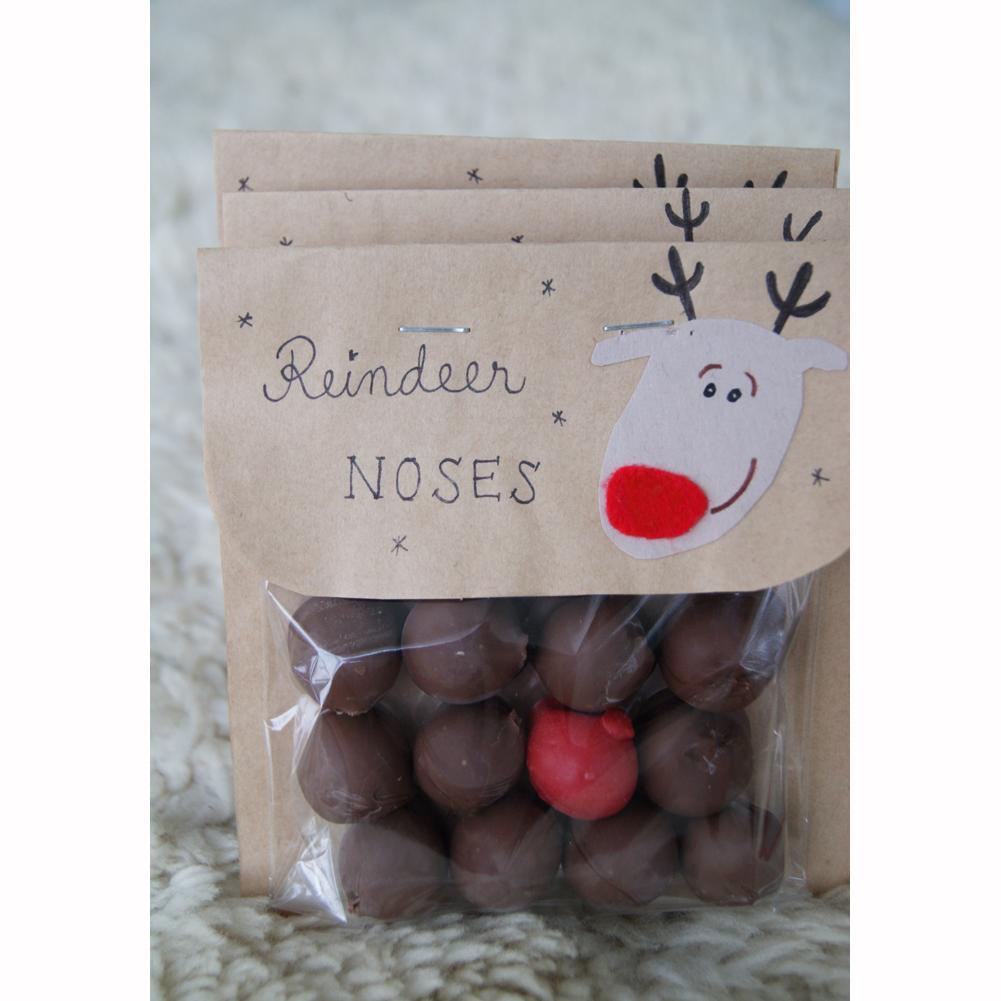 Chocolate Reindeer Noses - Poronnenät