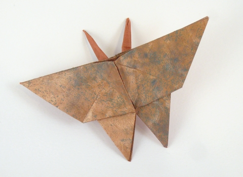 How To Origami Butterfly. origami Butterfly Maekawa Viva