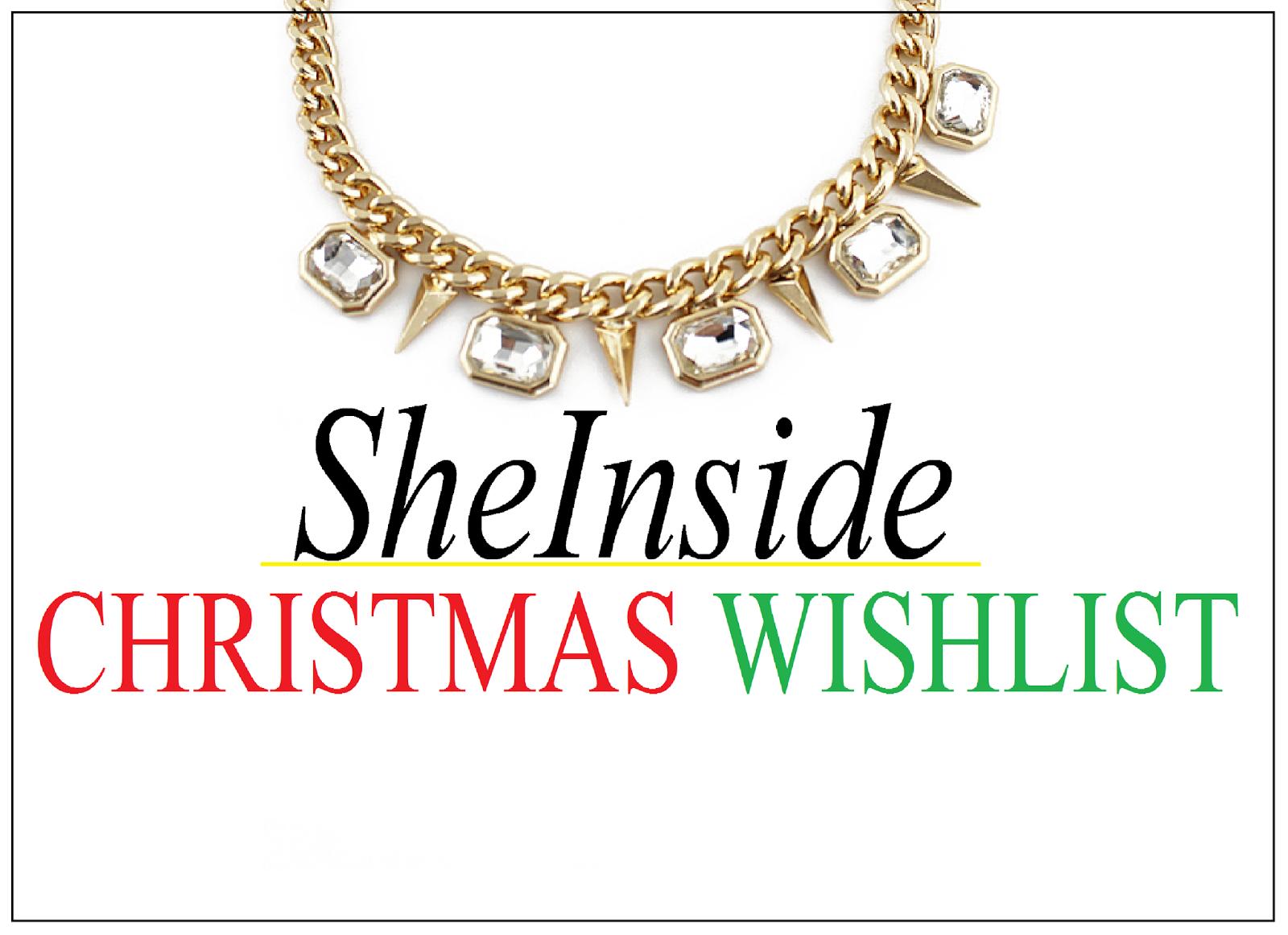 sheinside wishlist