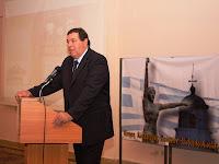 παρουσίαση βιβλίου του Φράγκου Φραγκούλη στην Αλεξανδρούπολη