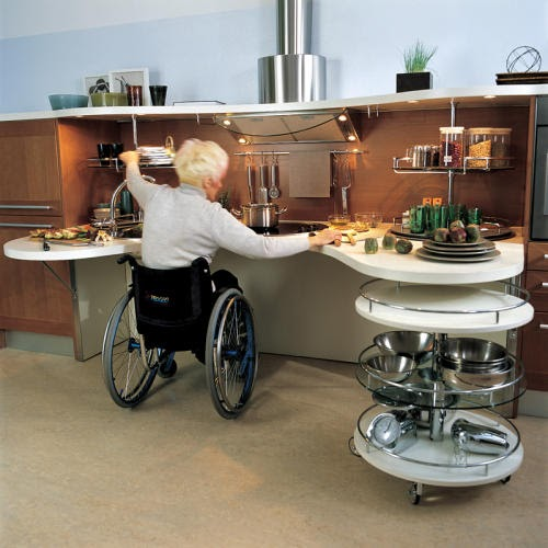 Functional homes universal design for accessibility ada for Wheelchair accessible houses