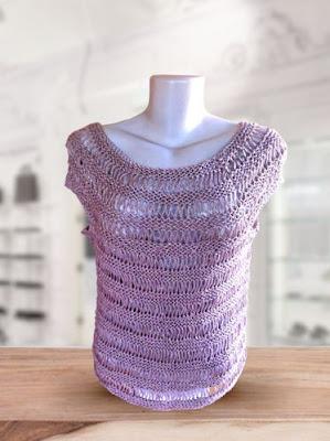 blusa tricô fácil
