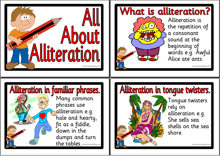 examples of alliteration  sentences