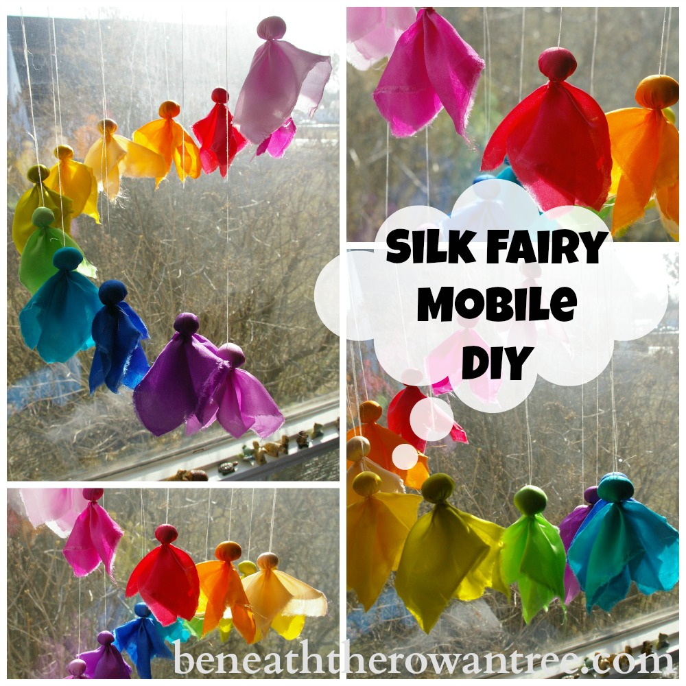 Fairy Crafts Silk Flowers http://beneaththerowantree.blogspot.com/2013/04/waldorf-inspired-craft-silk-fairy.html