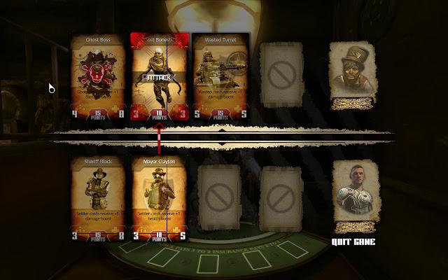 Rage Frenzy card game screen