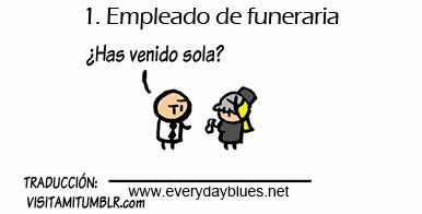 Los 5 mejores empleos para conocer chicas - Emplead de funeraria