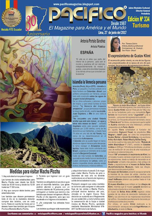 Revista Pacífico Nº 334 Turismo