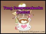 @28 feb : Yang Sempurnakanku Contest By Cik Rara