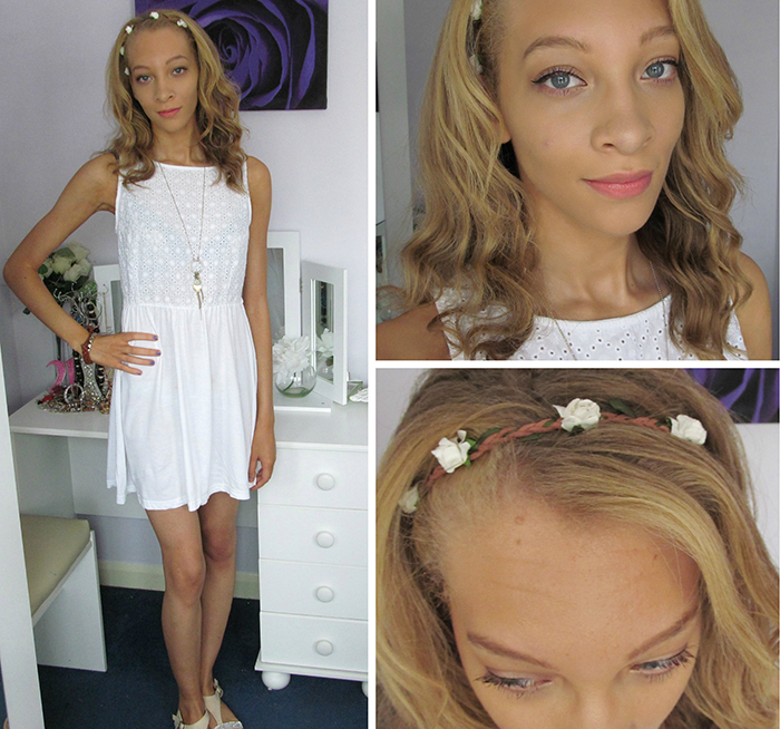 Outfit: White Summer Dress