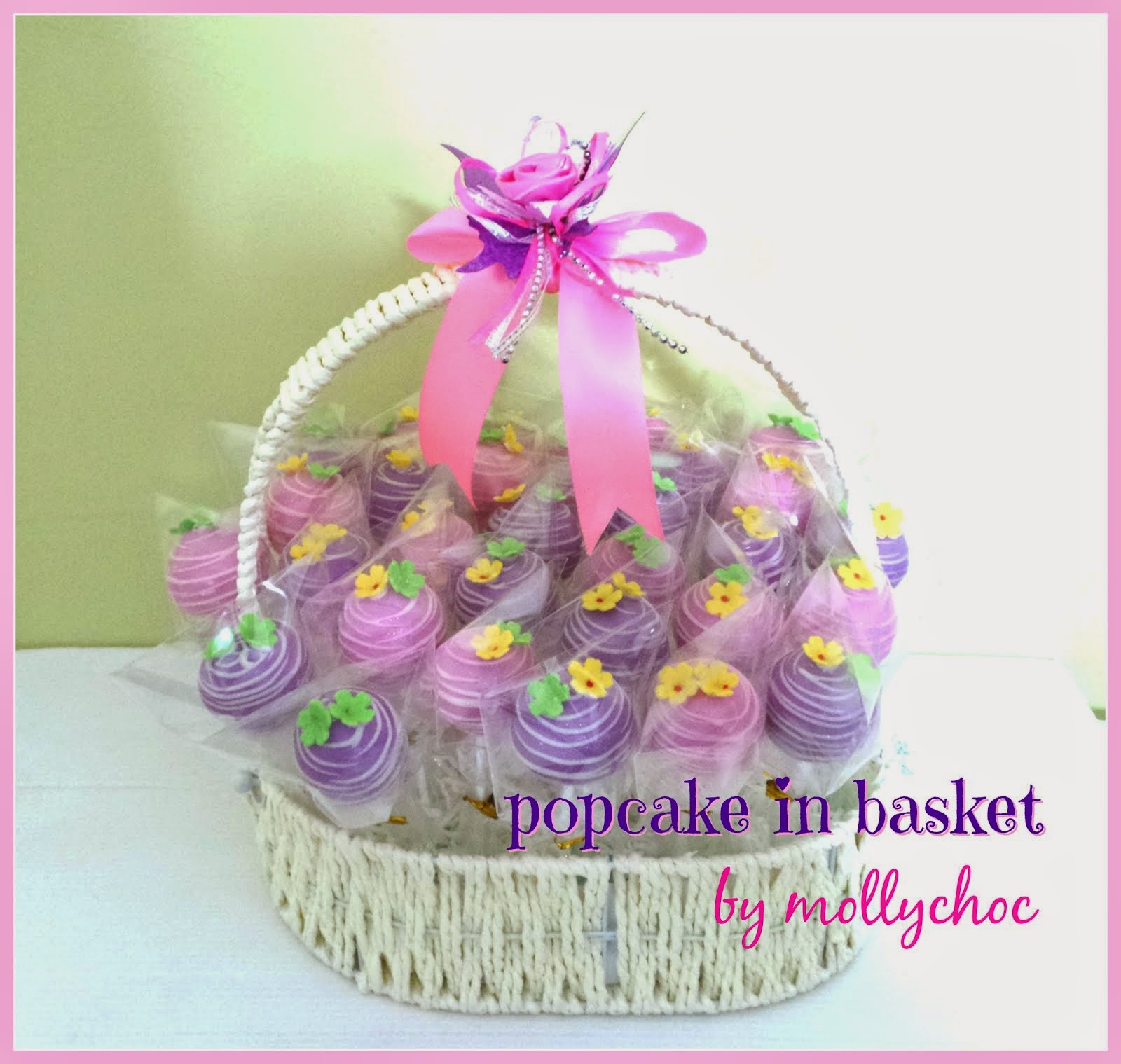 Popcake in Basket