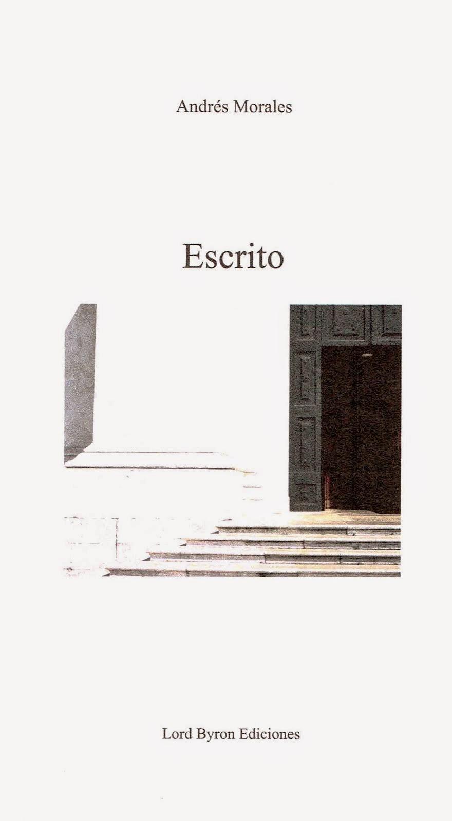 """""""ESCRITO"""" (EDICIÓN ESPAÑOLA)"""