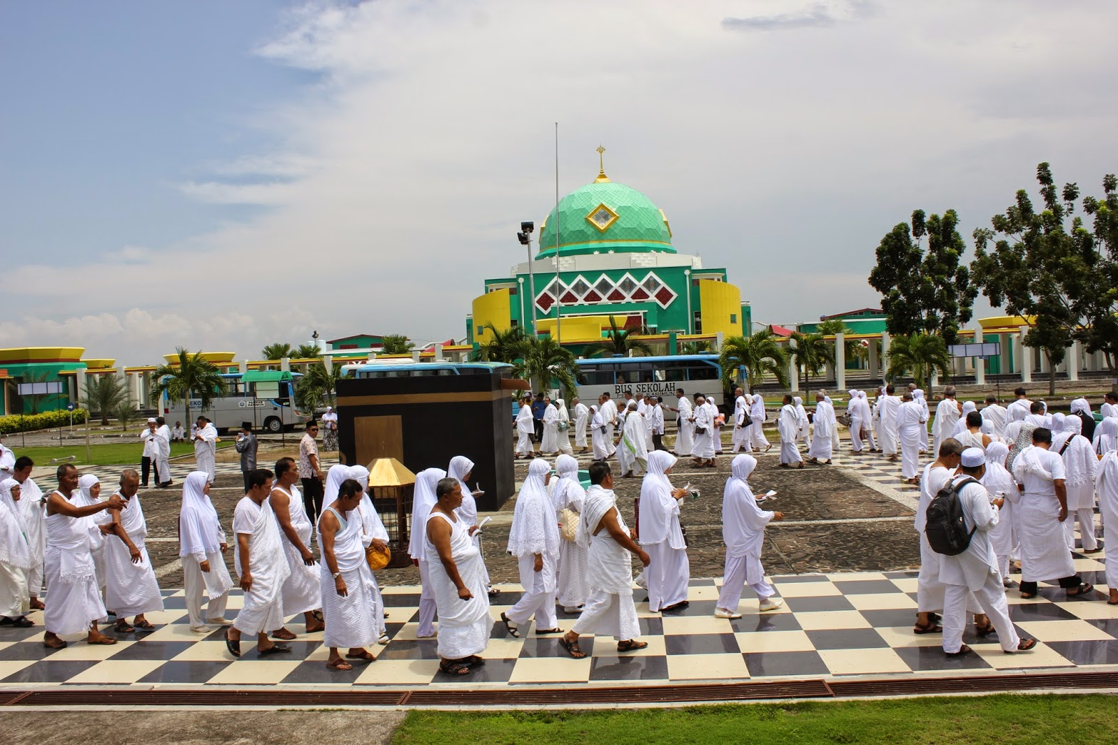 waktu berangkat jamaah haji indonesia