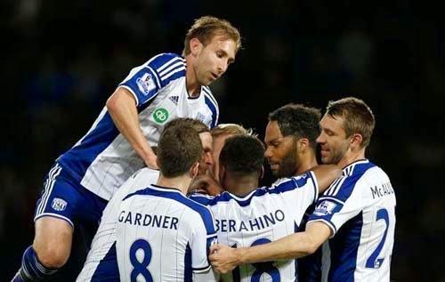 Gallery pictures West Brom vs Chelsea 3-0 Premier League 18-05-2015