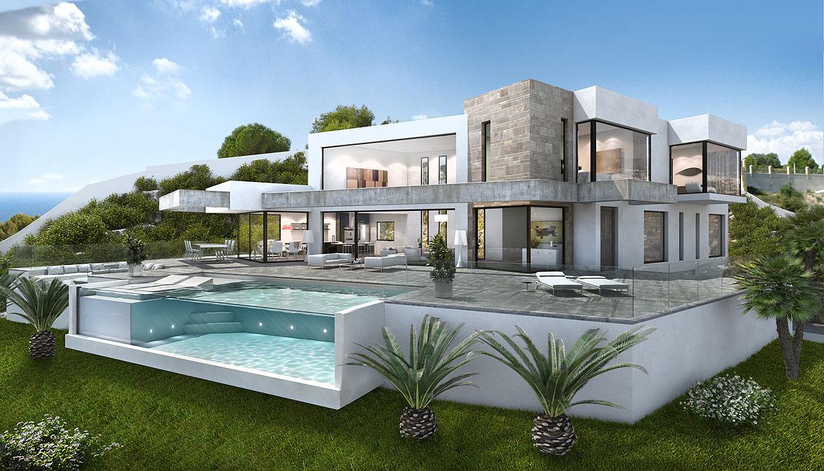 Immobilien Costa Blanca: Villa Chronos, neubau mit ...