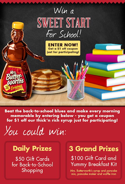 Mrs.Butterworth's Yummy Breakfast Kit {Giveaway}