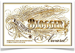 Premio - Very Inspiring Blogger Award