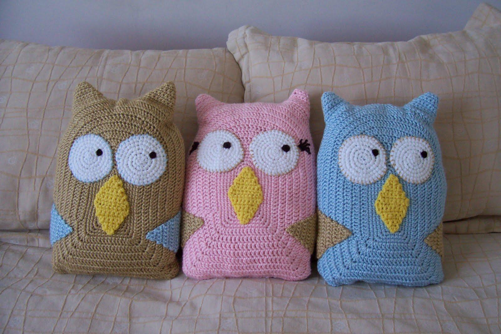 Lechuzas Y Animalitos Tejidas Al Crochet   Varios Colores