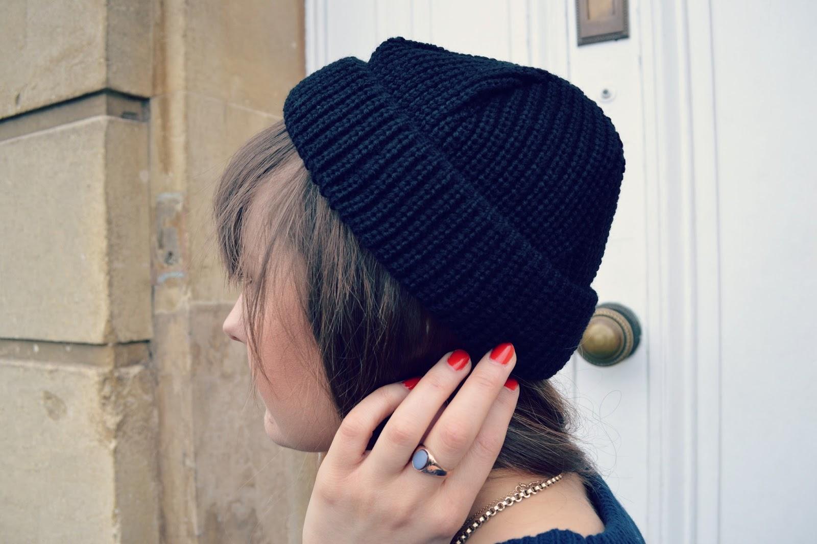 vintage ring asos beanie hat