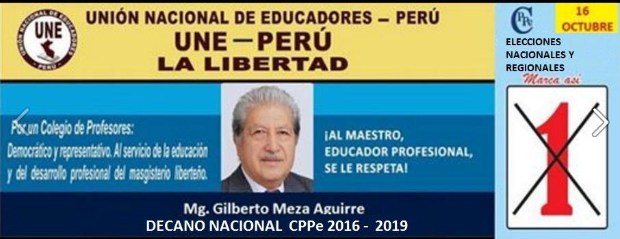 UNION NACIONAL DE EDUCADORES DEL  PERU