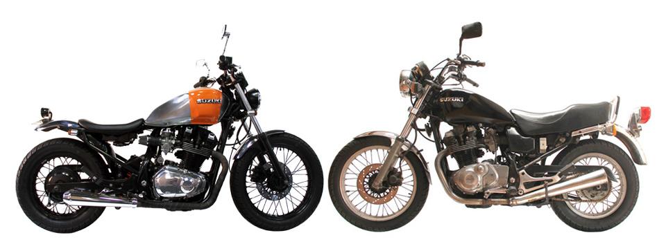 Milchapitas Kustom Bikes Suzuki Gr650 1984 By Ellaspede