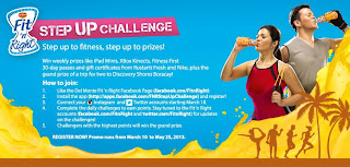 Fit N Right Step-Up Challenge