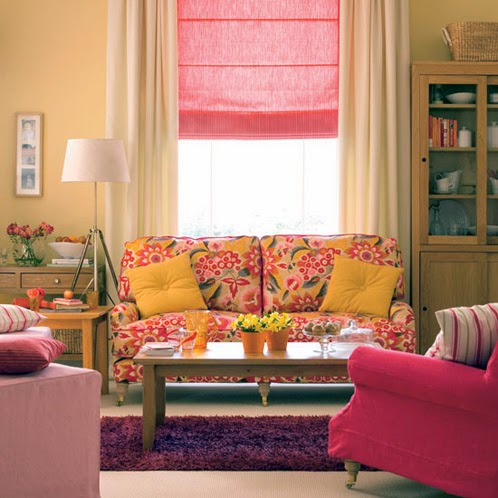 Country house and cottage living room style ideas for Country living room colors ideas