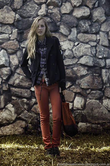 Sacos invierno 2013 Moda.
