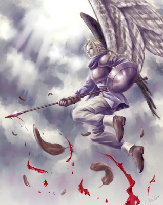Anime Angel Man