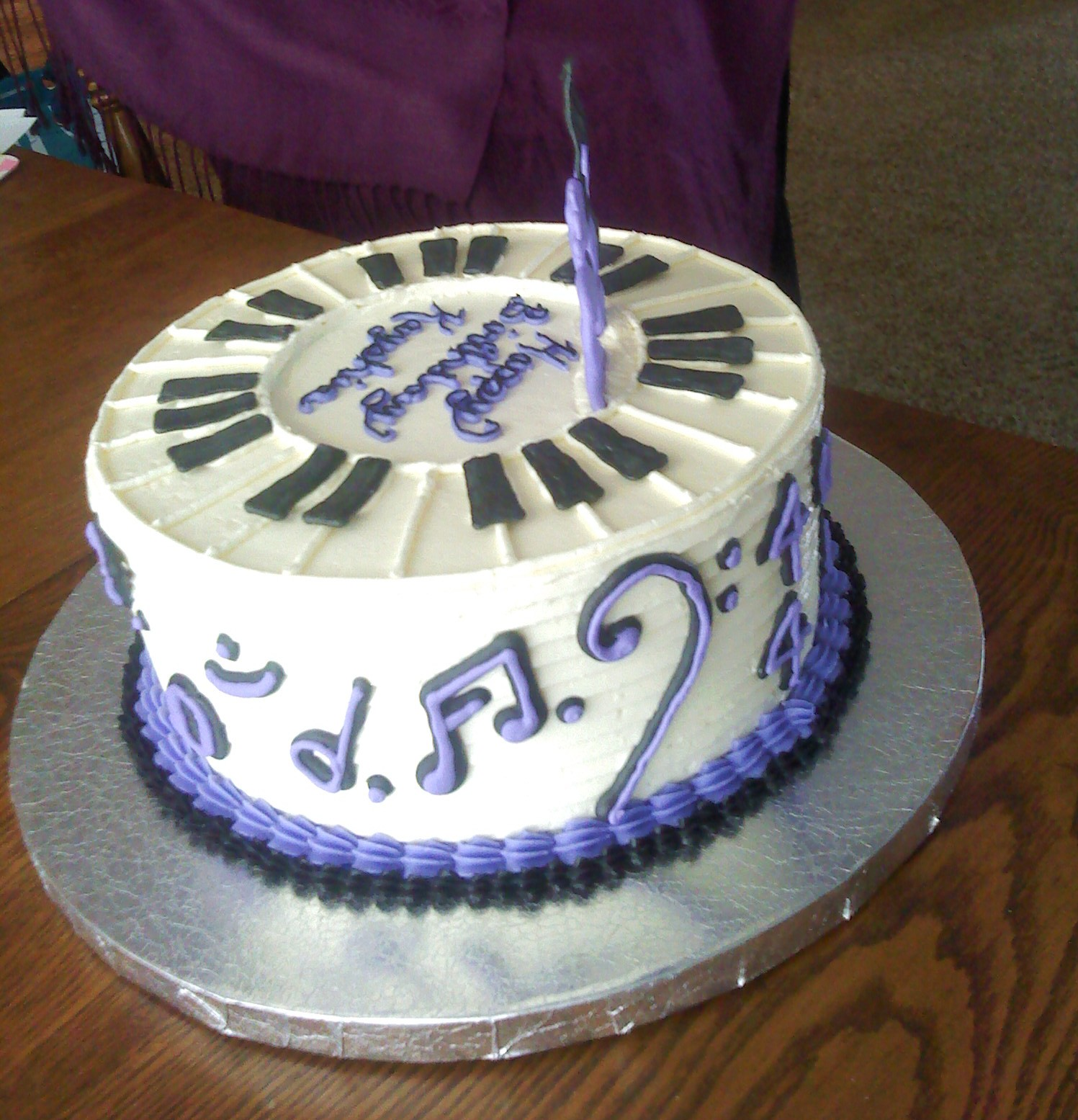 Blue Bandana Birthday Cake Image Inspiration of Cake and Birthday