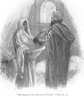 Ruth and Boaz - Ruth 3:15