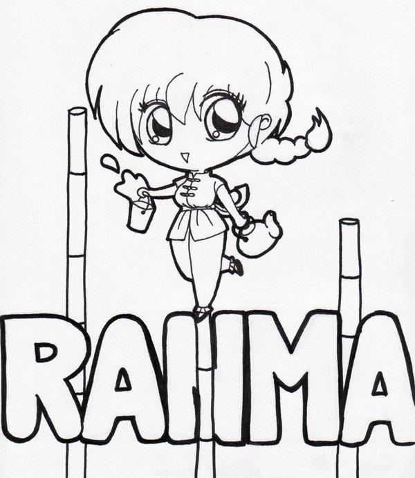 Imágenes para colorear de Ranma - Ranma Nibun-no-Ichi (12 ...