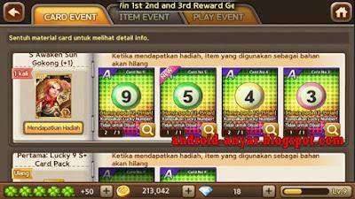 Kartu Karakter Awaken Sun Gokong S Class