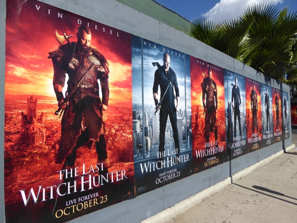 The Last Witch Hunter movie posters
