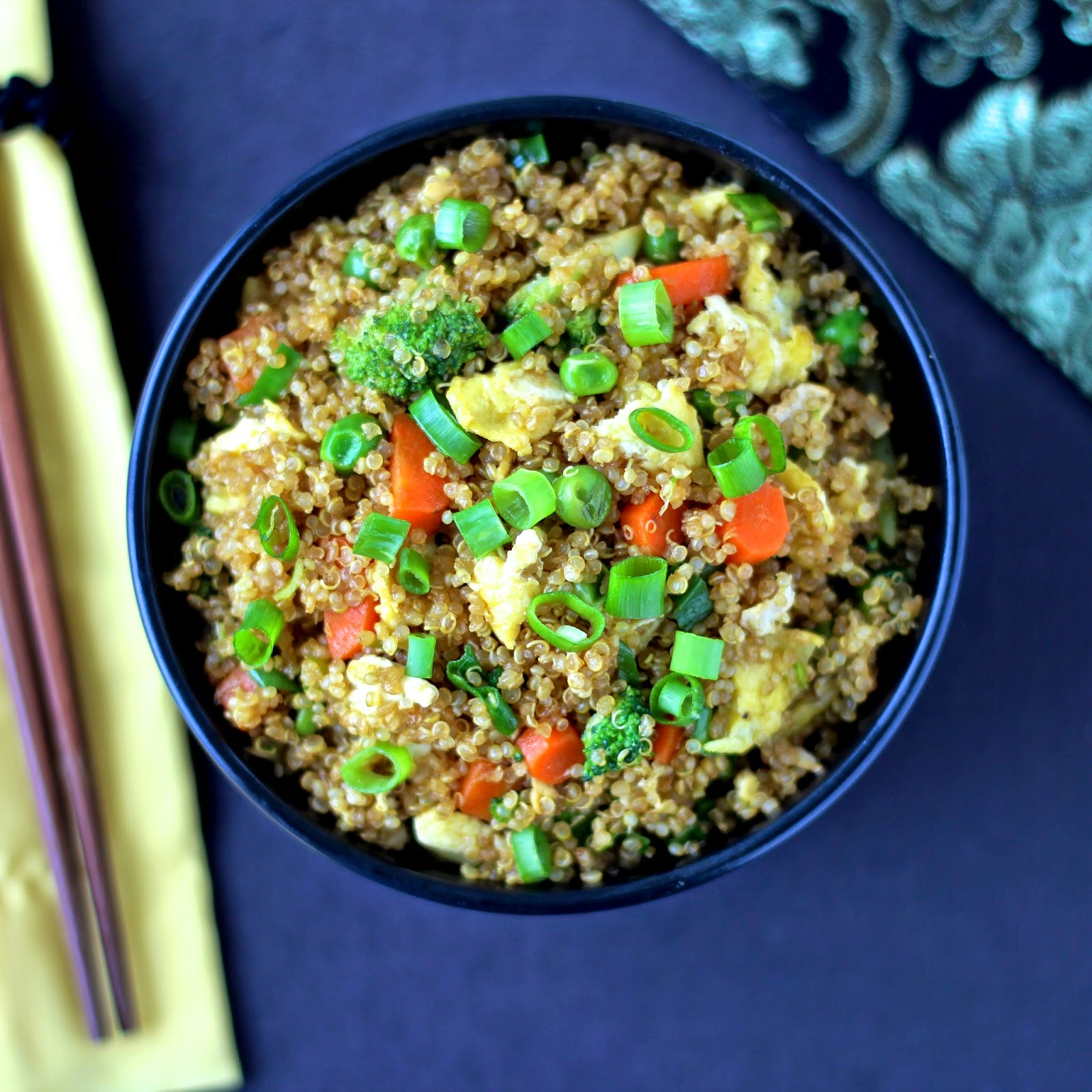"The Foodie Physician: Recipe Resuscitation: Quinoa Fried ""Rice"""