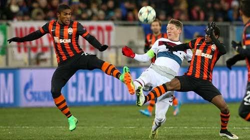 Shakhtar Donetsk vs. Bayern Munchen 0-0 UEFA Champions League 17-02-2015