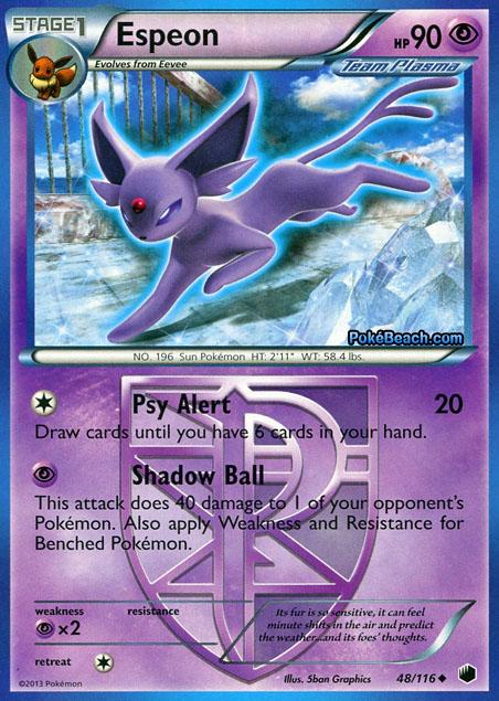 Espeon plasma freeze pokemon card review primetime pokemon 39 s blog