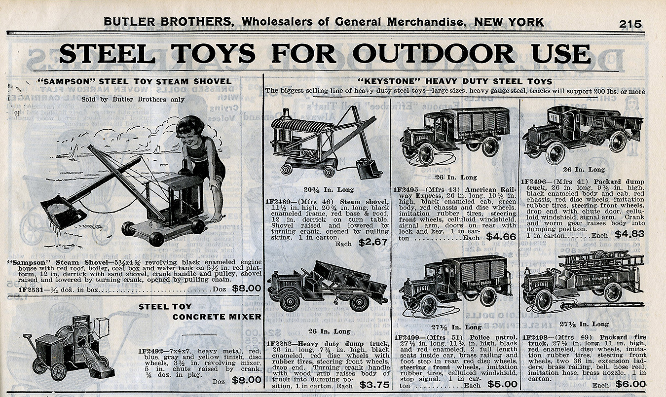Old Antique Toys: An April 1927 Butler Brothers Catalog