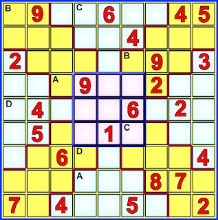 Sudoku, Sudoku X, Variantes del Sudoku, Sudoku 9x9