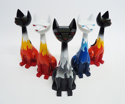 Hell Cats Tuttz 8 Inch Resin Figures by Argonaut Resins &amp; Robbie Busch