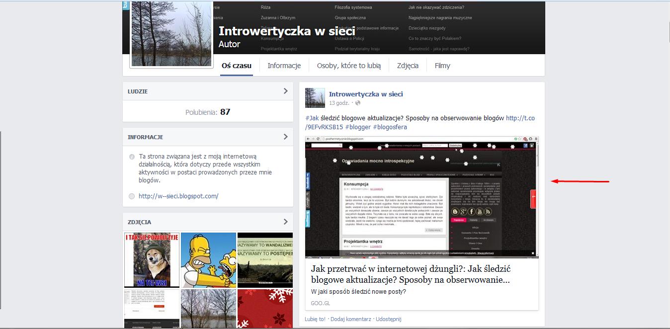 Automatyczna publikacja postów na Facebooku