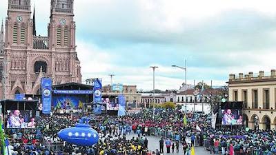 Miles de jóvenes peregrinan hacia la basílica de Luján Agenda-basilica-Lujan-Iglesia-preocupan_CLAIMA20120821_0025_22