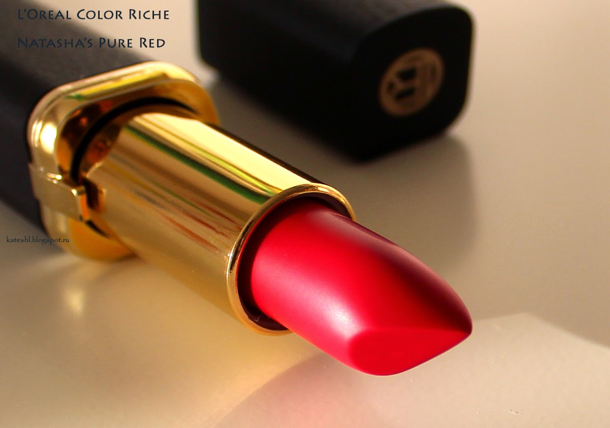 L'Oreal Color Riche Natasha's Pure Red