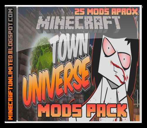 Town Universe Mods Pack Carátula