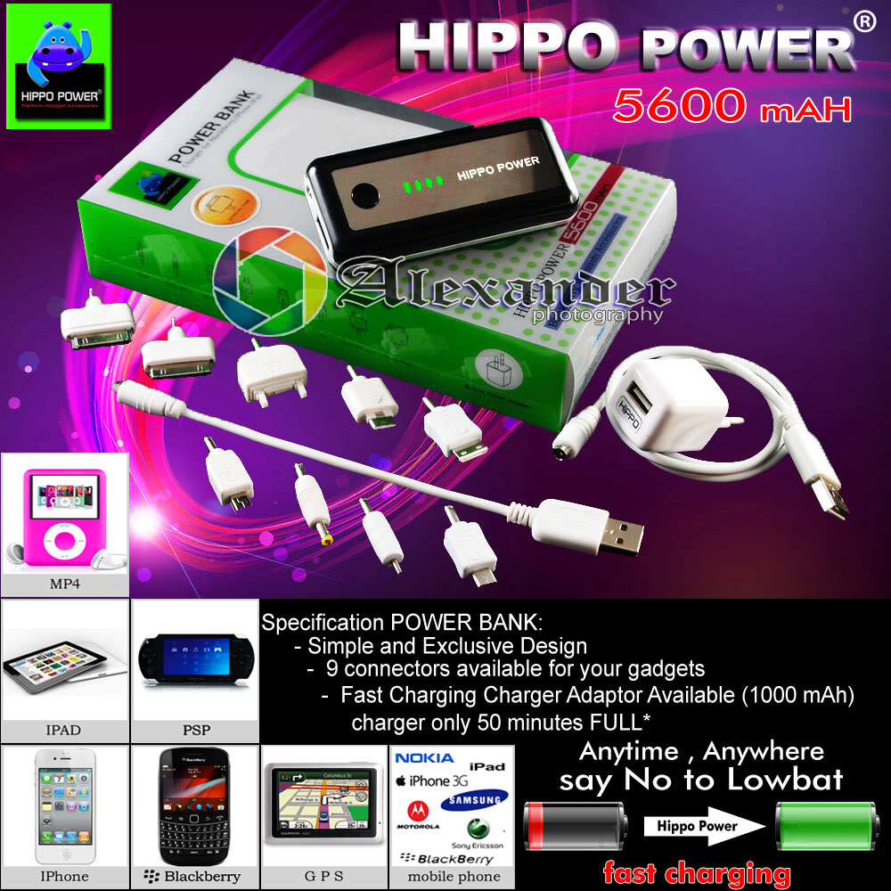 Power Bank Hippo Power 5600mAh