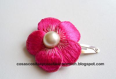 Flor-bordada
