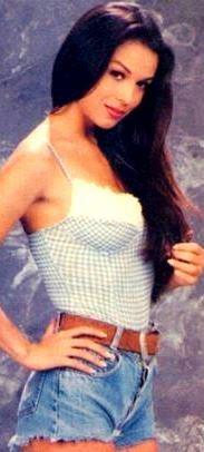 Foto de Bibi Gaytán cuando era soltera