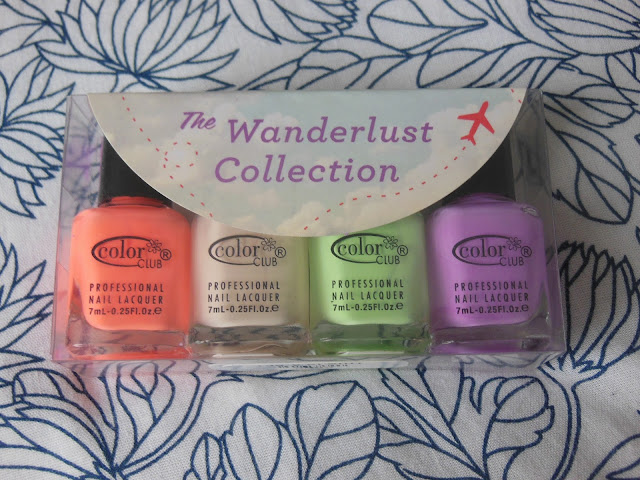Color Club Wanderlust polishes collection